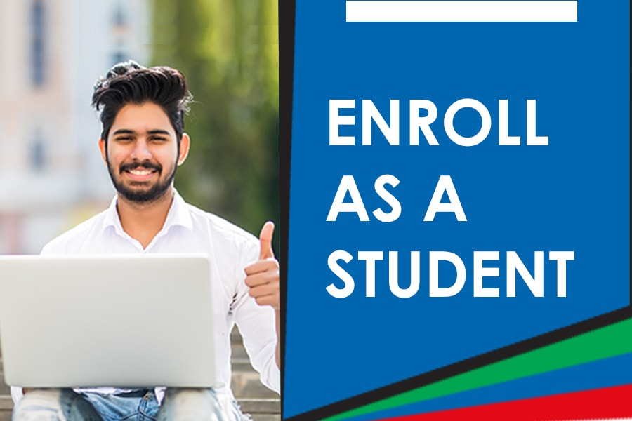Enroll as Student