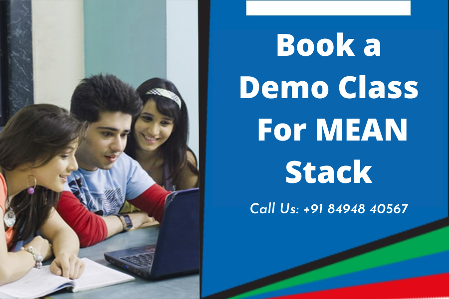book a demo class for mean stack